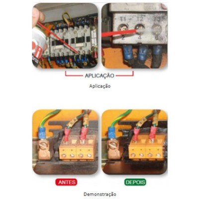 MV CLEANER Desengraxante Protetivo para Eletrônicos, Metais Ferrosos e não Ferrosos