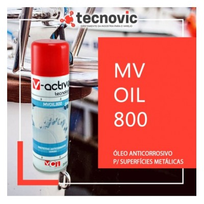 MV OIL 800 Óleo Protetivo Anticorrosivo Equipamentos Diversos