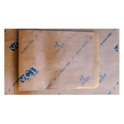 Saco de Papel Plastificado Anticorrosivo VCI - Pacotes com 100 e 200 peças